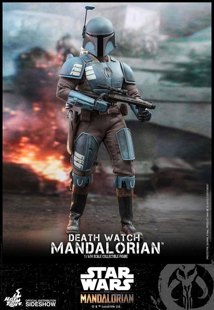 Figurine Star Wars The Mandalorian Death Watch Mandalorian 30cm 1001 Figurines (1)