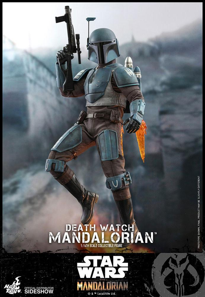 Figurine Star Wars The Mandalorian Death Watch Mandalorian 30cm 1001 Figurines (2)