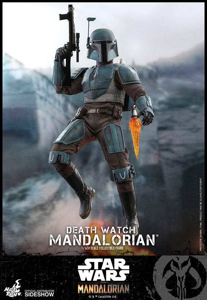 Figurine Star Wars The Mandalorian Death Watch Mandalorian 30cm 1001 Figurines (3)