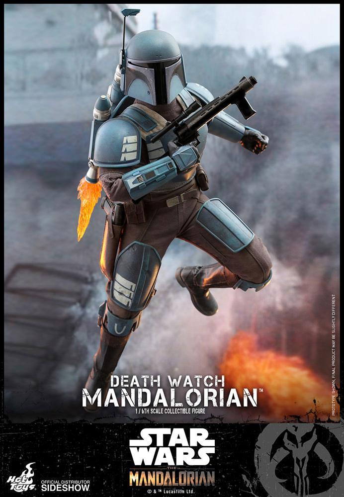 Figurine Star Wars The Mandalorian Death Watch Mandalorian 30cm 1001 Figurines (4)