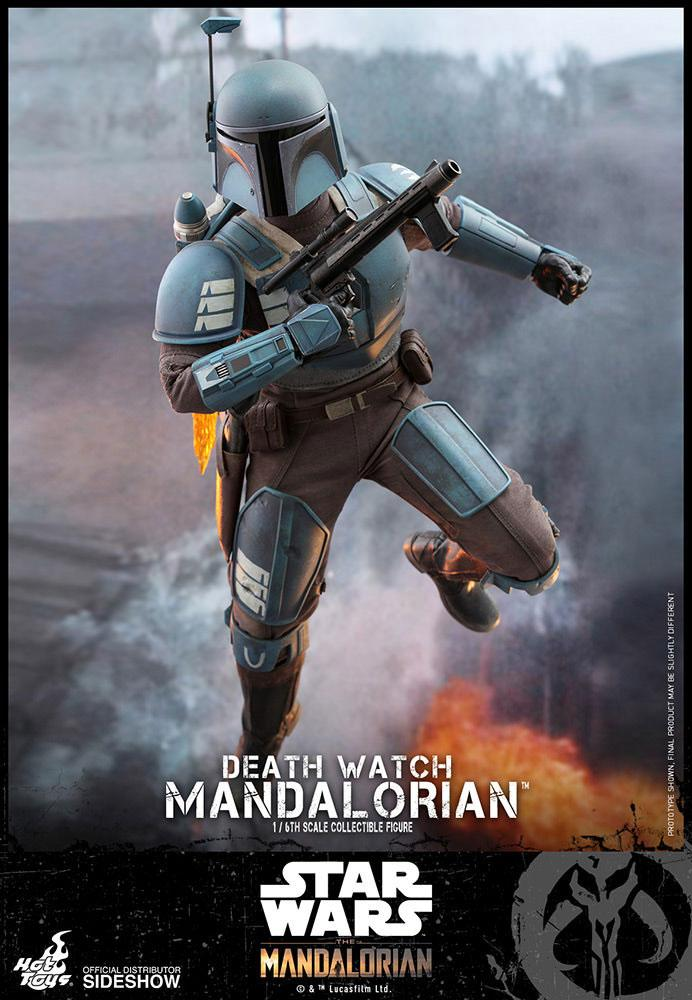Figurine Star Wars The Mandalorian Death Watch Mandalorian 30cm 1001 Figurines (5)