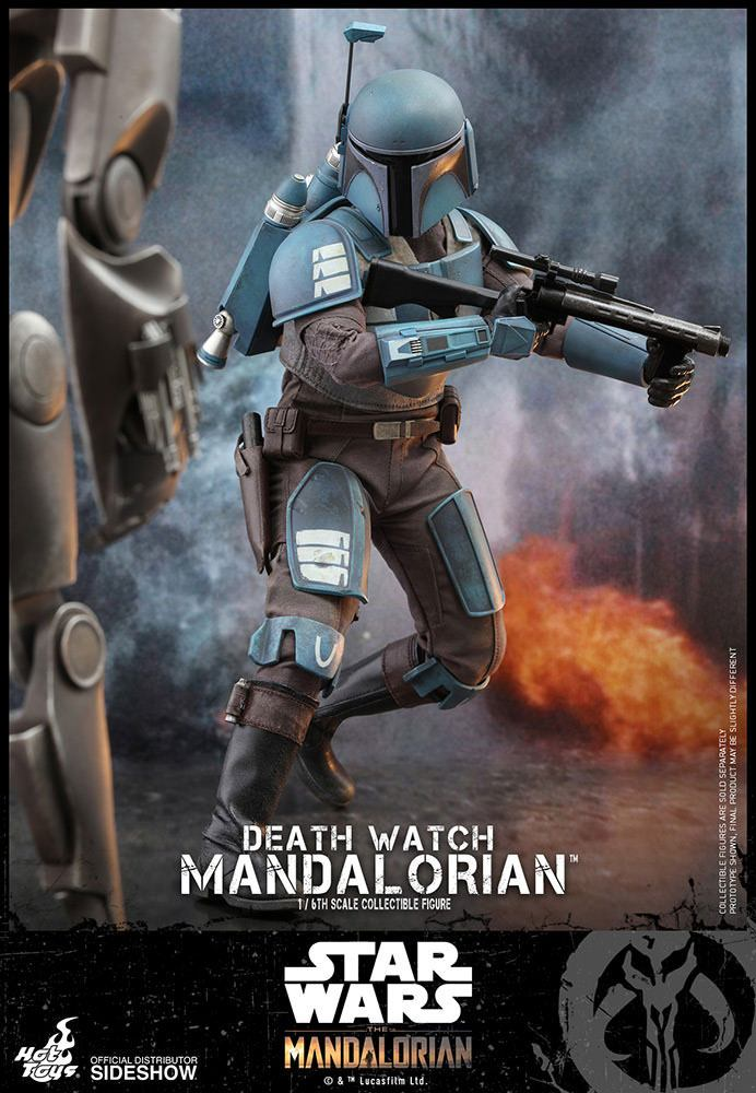 Figurine Star Wars The Mandalorian Death Watch Mandalorian 30cm 1001 Figurines (7)