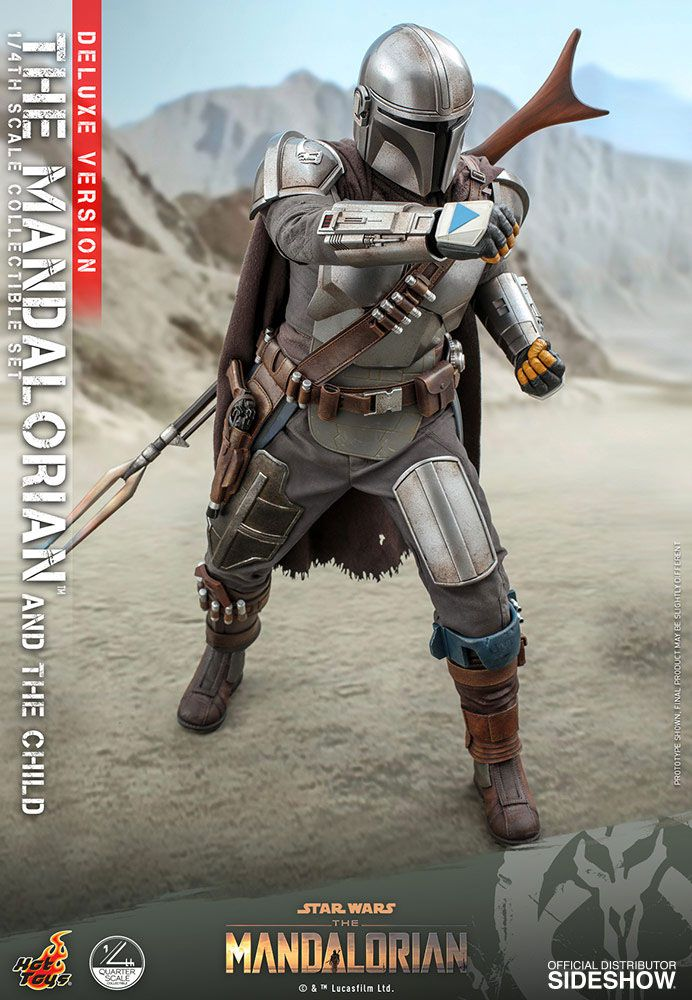 Pack Figurines Star Wars The Mandalorian The Mandalorian & The Child Deluxe 46cm 1001 Figurines (6)