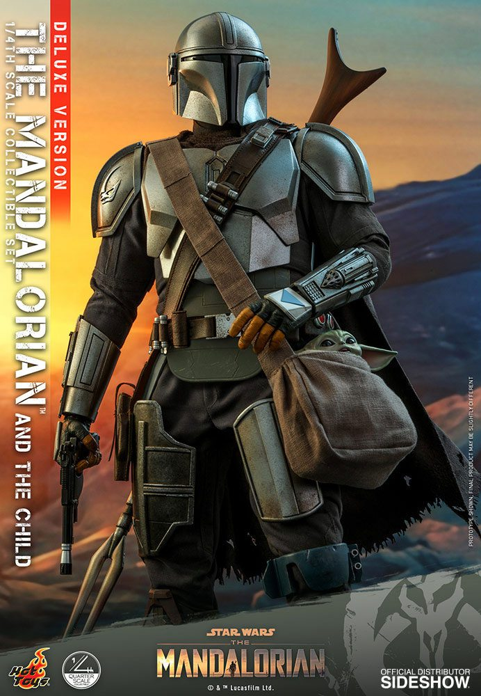 Pack Figurines Star Wars The Mandalorian The Mandalorian & The Child Deluxe 46cm 1001 Figurines (12)