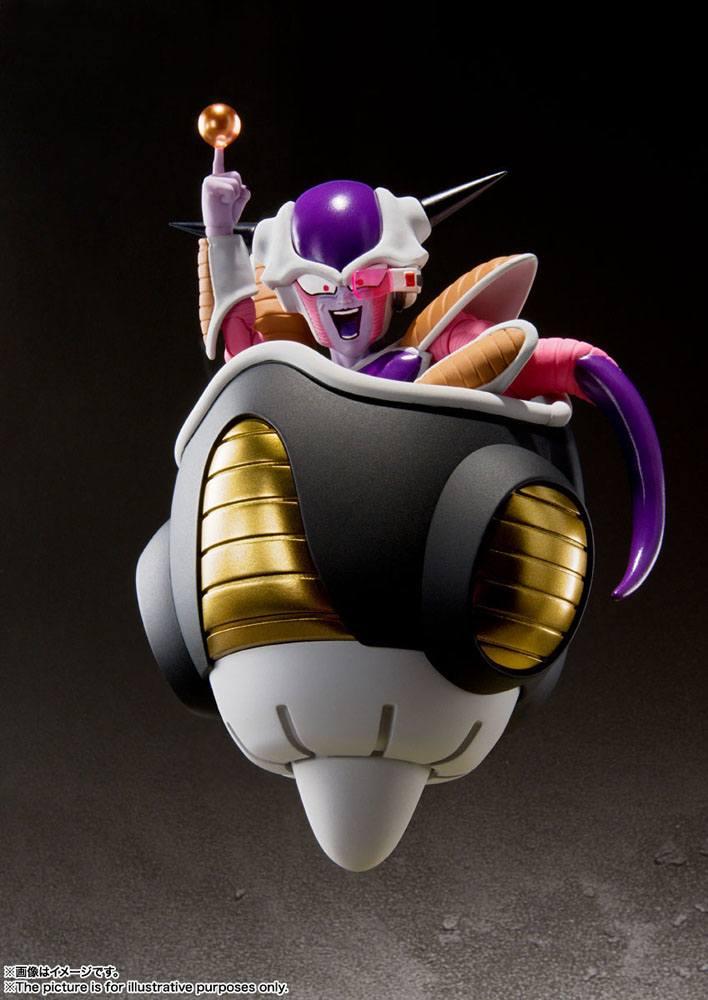Figurine Dragon Ball Z S.H. Figuarts Frieza First Form & Frieza Pod Set 11cm