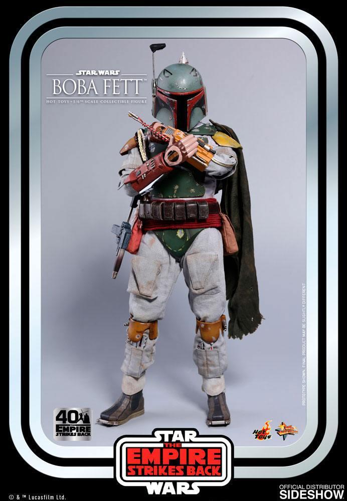 Figurine Star Wars Episode V Movie Masterpiece Boba Fett 30cm 1001 Figurines (6)