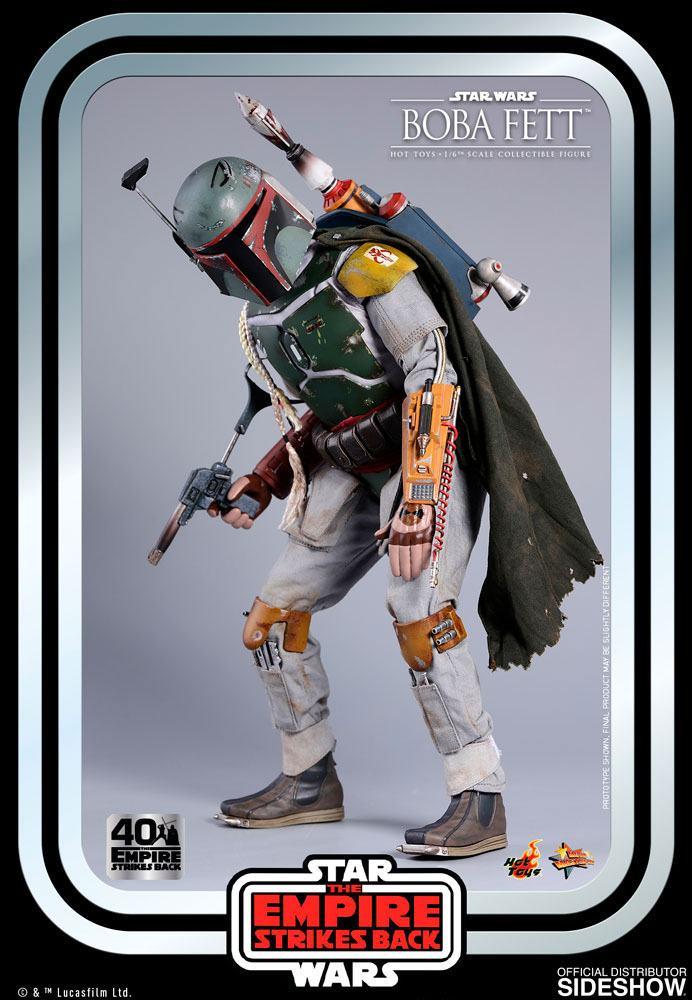 Figurine Star Wars Episode V Movie Masterpiece Boba Fett 30cm 1001 Figurines (8)