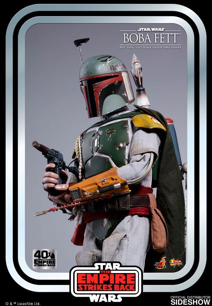 Figurine Star Wars Episode V Movie Masterpiece Boba Fett 30cm 1001 Figurines (9)