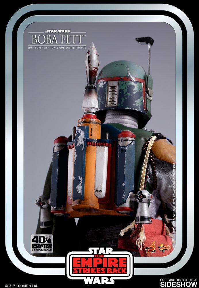 Figurine Star Wars Episode V Movie Masterpiece Boba Fett 30cm 1001 Figurines (10)