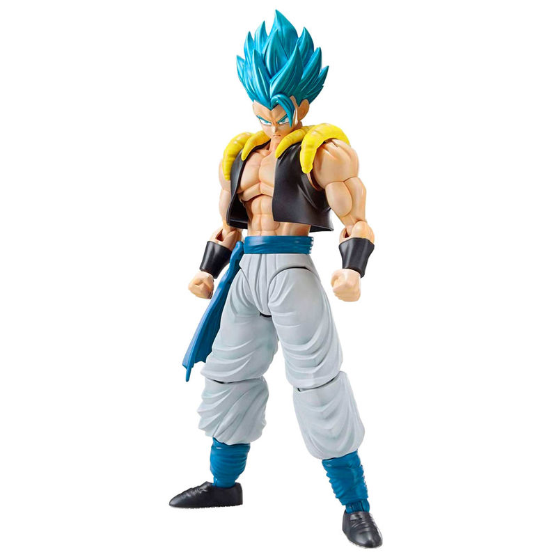 Maquette Model Kit Dragon Ball Z Super Saiyan God Super Saiyan Gogeta 15cm 1001 Figurines 2
