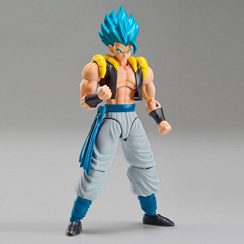 Maquette Model Kit Dragon Ball Z Super Saiyan God Super Saiyan Gogeta 15cm 1001 Figurines 3