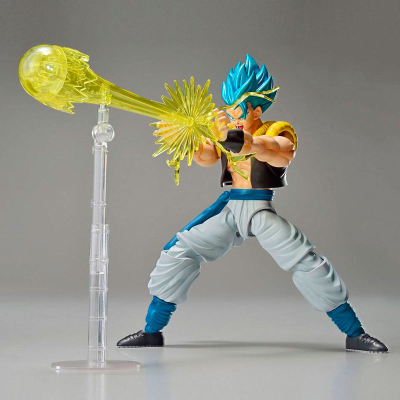 Maquette Model Kit Dragon Ball Z Super Saiyan God Super Saiyan Gogeta 15cm 1001 Figurines 4