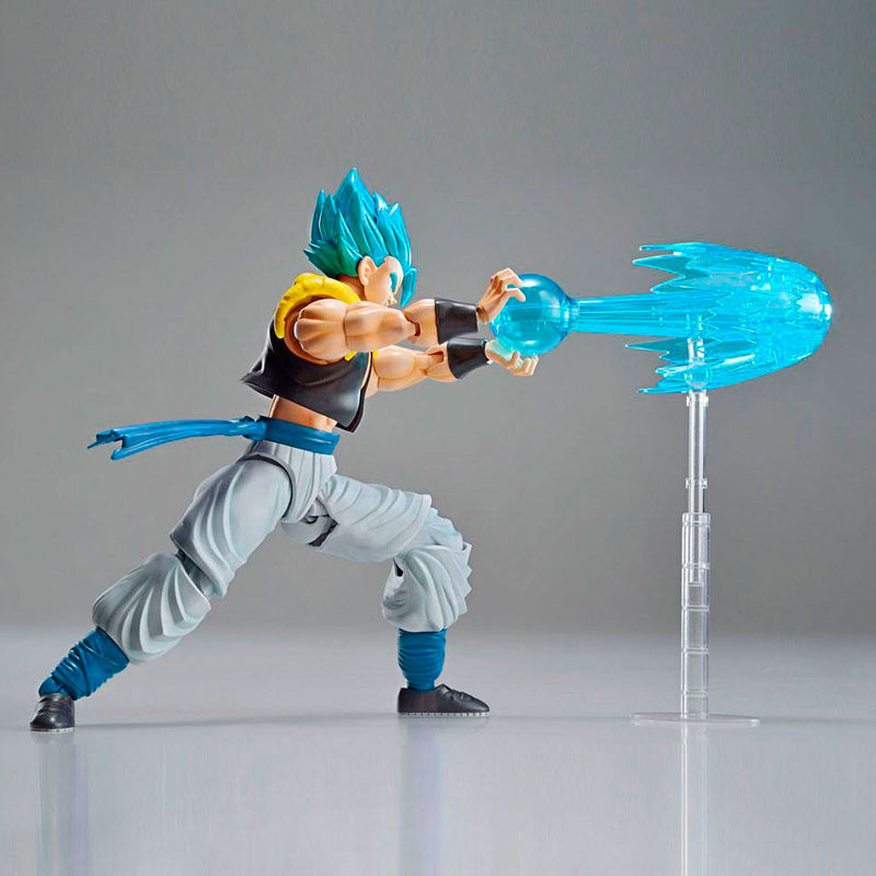 Maquette Model Kit Dragon Ball Z Super Saiyan God Super Saiyan Gogeta 15cm 1001 Figurines 5