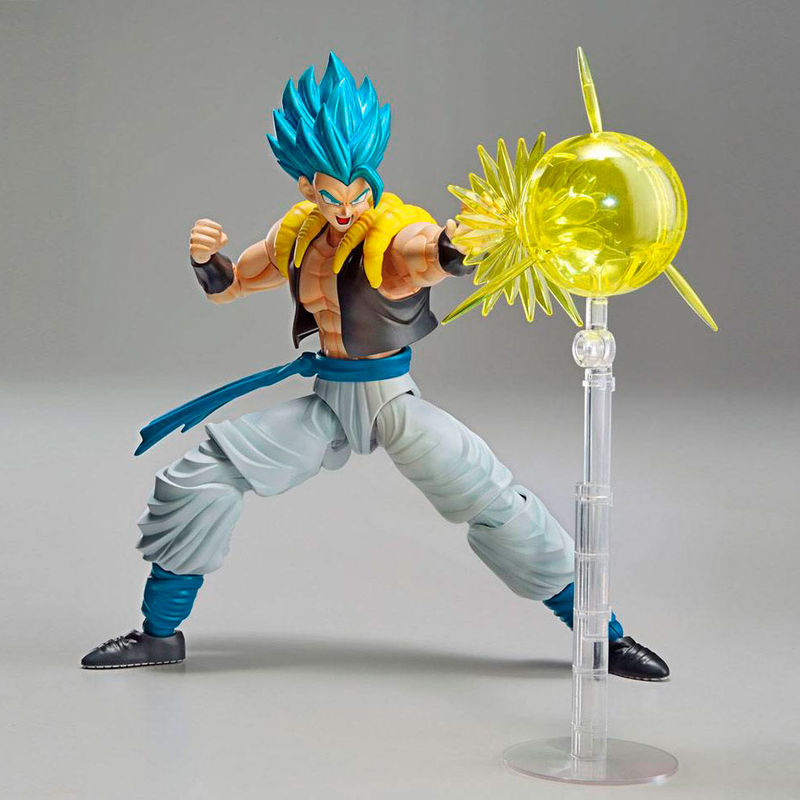 Maquette Model Kit Dragon Ball Z Super Saiyan God Super Saiyan Gogeta 15cm 1001 Figurines 6