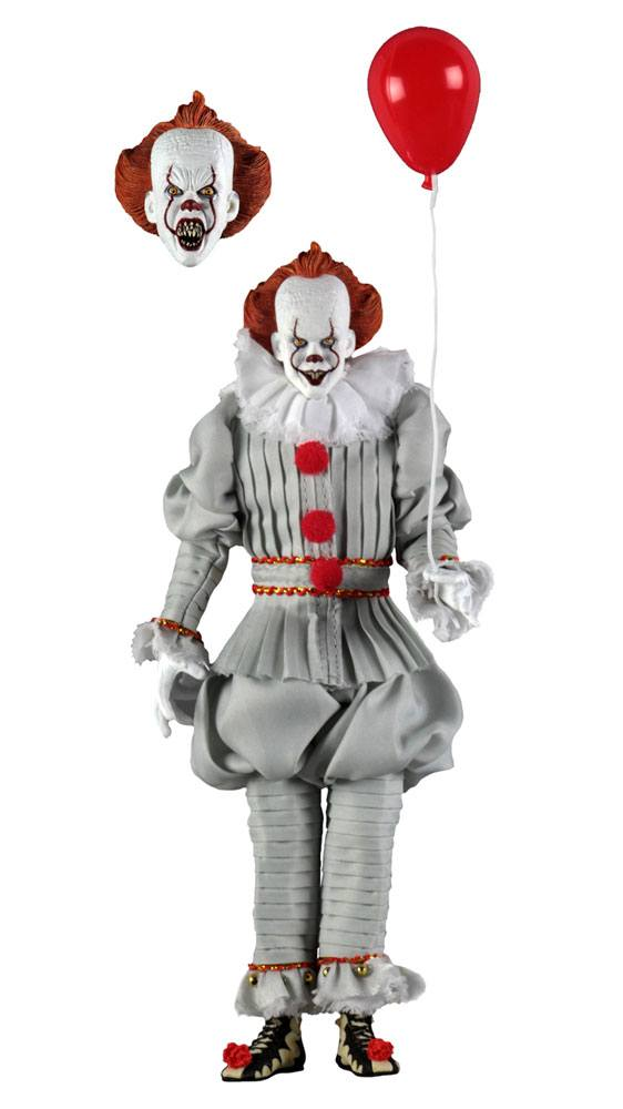 Figurine « Il » est revenu 2017 Retro Pennywise 20cm