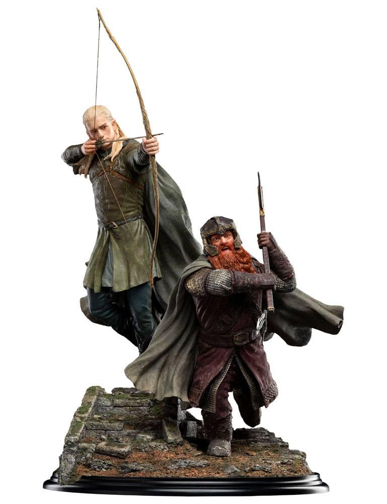 Statuette Le Seigneur des Anneaux Legolas and Gimli at Amon Hen 46cm 1001 Figurines (2)