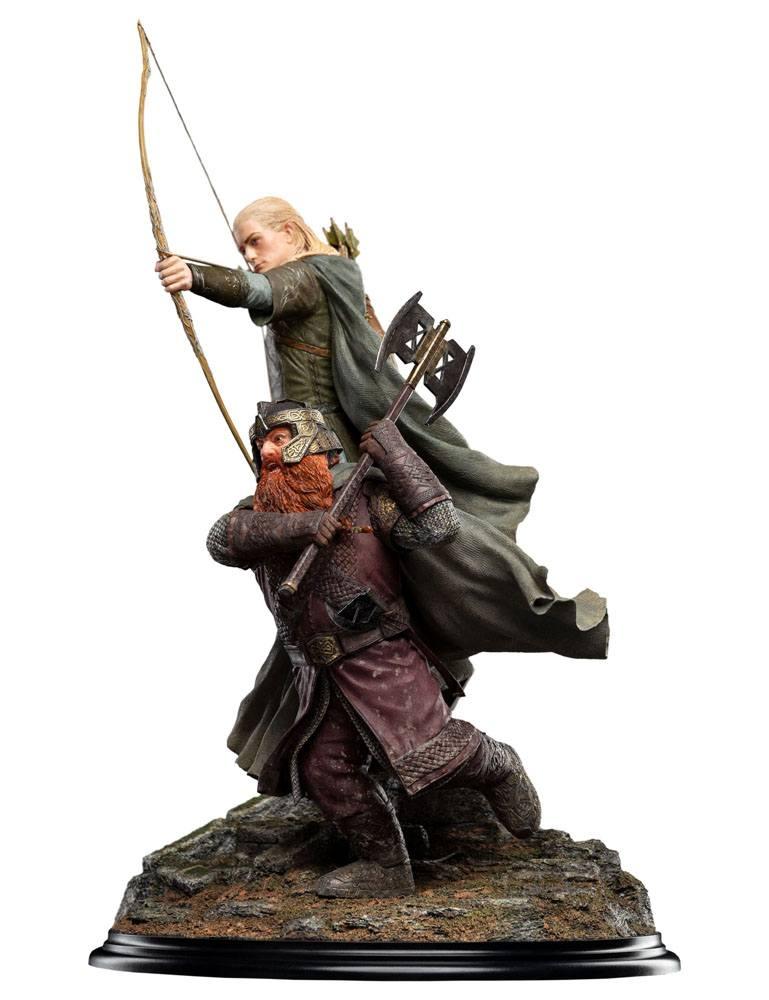 Statuette Le Seigneur des Anneaux Legolas and Gimli at Amon Hen 46cm 1001 Figurines (3)