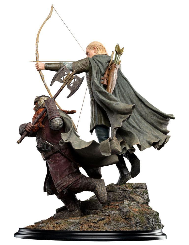 Statuette Le Seigneur des Anneaux Legolas and Gimli at Amon Hen 46cm 1001 Figurines (4)