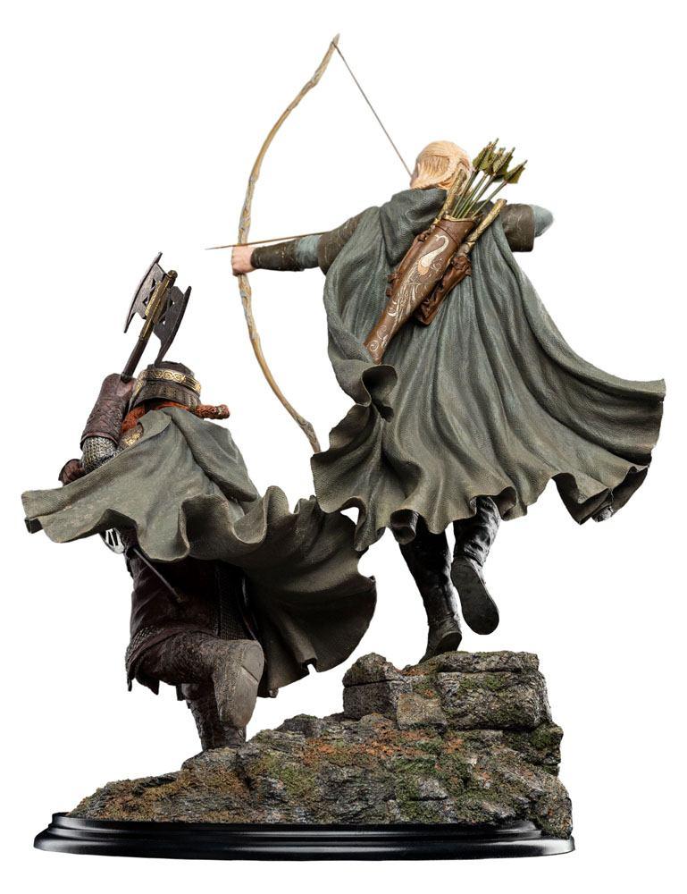 Statuette Le Seigneur des Anneaux Legolas and Gimli at Amon Hen 46cm 1001 Figurines (5)