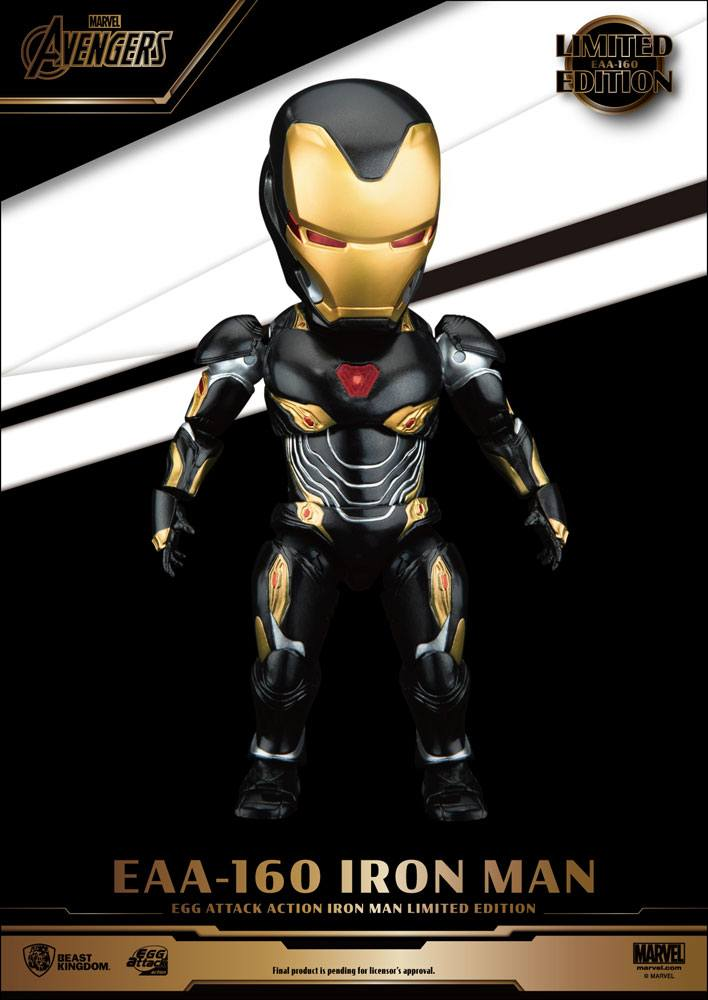 Figurine Avengers Infinity War Egg Attack Iron Man Mark 50 Limited Edition 16cm 1001 Figurines (1)