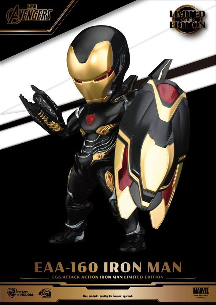 Figurine Avengers Infinity War Egg Attack Iron Man Mark 50 Limited Edition 16cm 1001 Figurines (3)