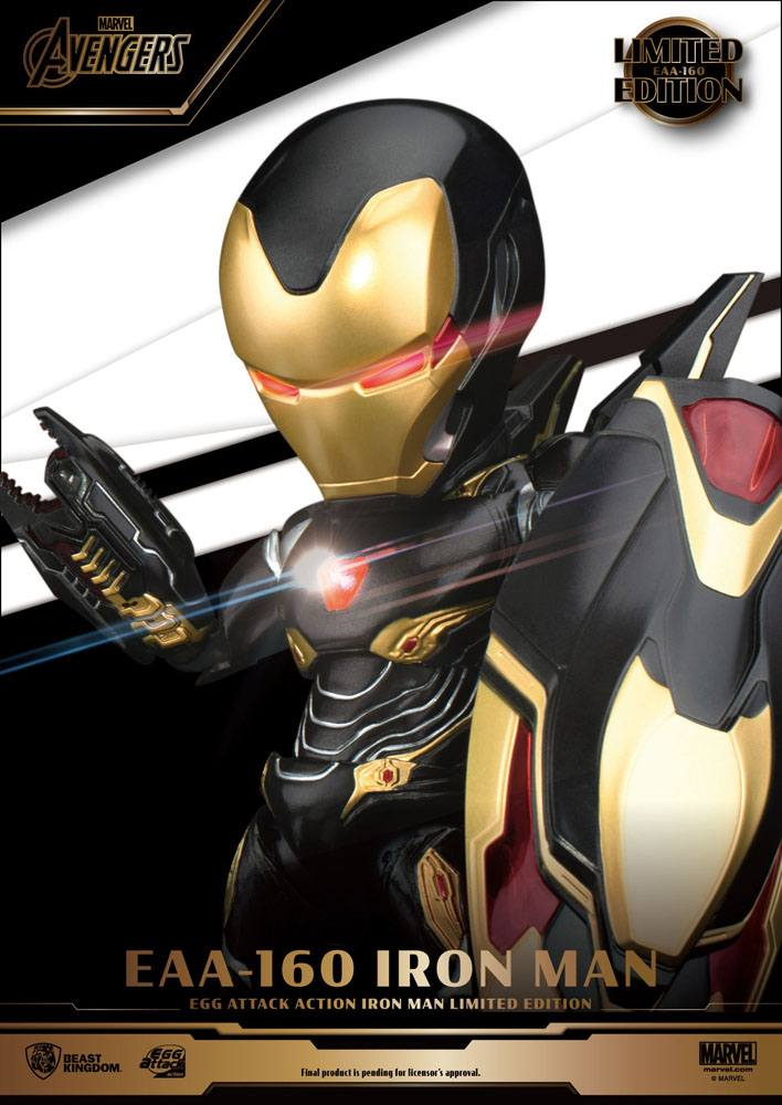 Figurine Avengers Infinity War Egg Attack Iron Man Mark 50 Limited Edition 16cm 1001 Figurines (4)