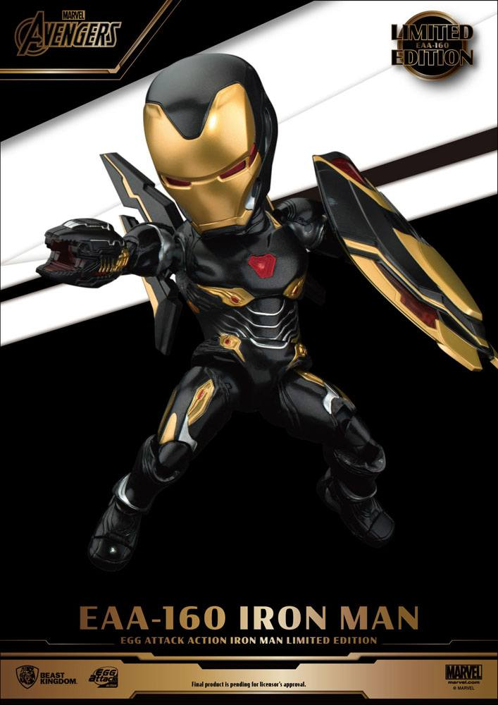 Figurine Avengers Infinity War Egg Attack Iron Man Mark 50 Limited Edition 16cm 1001 Figurines (5)