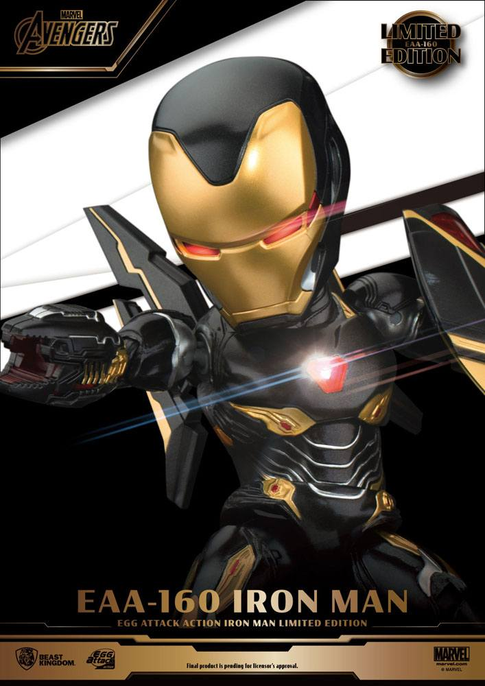 Figurine Avengers Infinity War Egg Attack Iron Man Mark 50 Limited Edition 16cm 1001 Figurines (6)