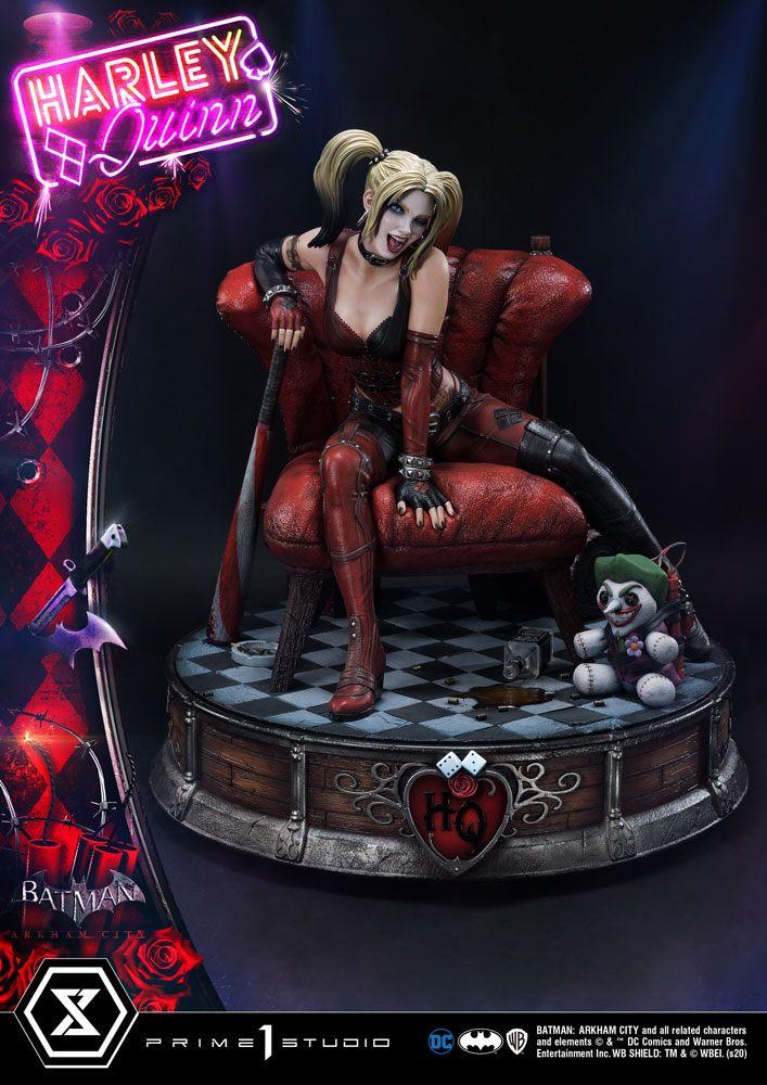 Statue Batman Arkham City Harley Quinn 58cm 1001 FIGURINES (1)