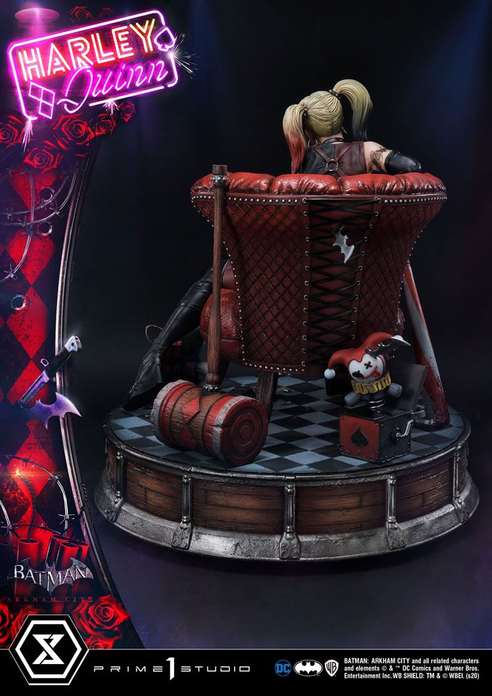 Statue Batman Arkham City Harley Quinn 58cm 1001 FIGURINES (5)