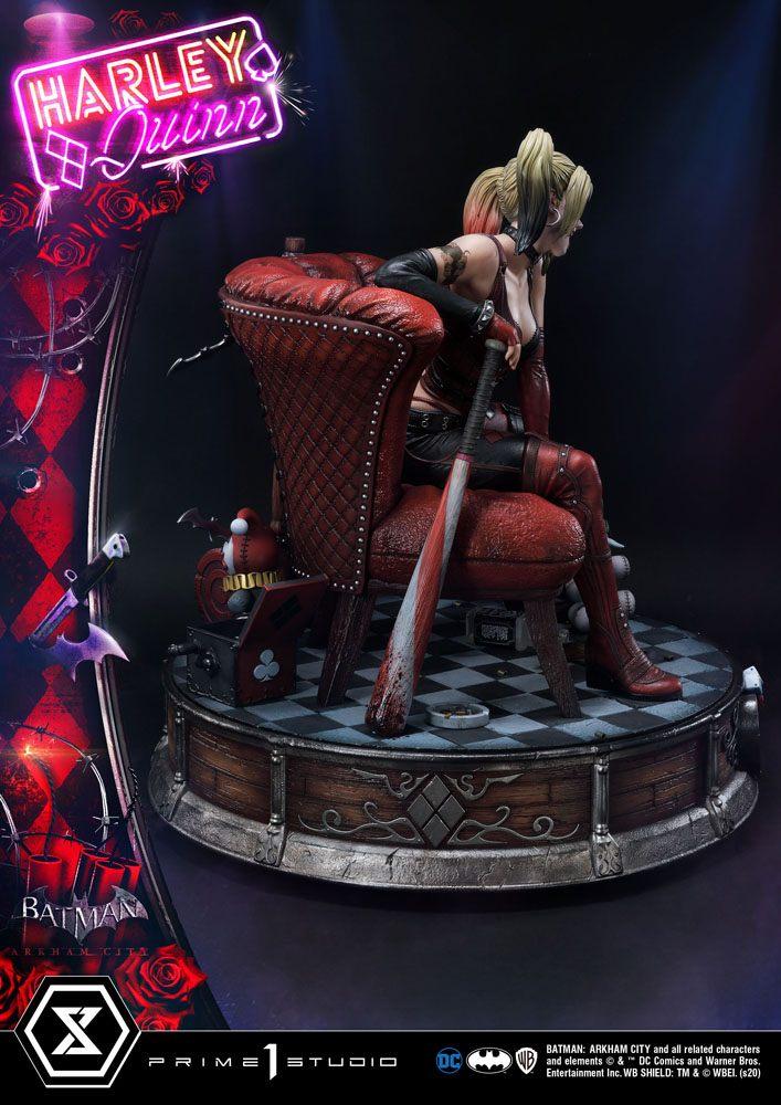 Statue Batman Arkham City Harley Quinn 58cm 1001 FIGURINES (6)
