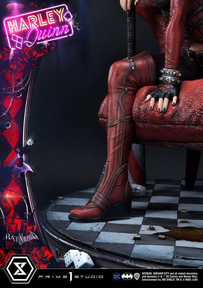 Statue Batman Arkham City Harley Quinn 58cm 1001 FIGURINES (8)