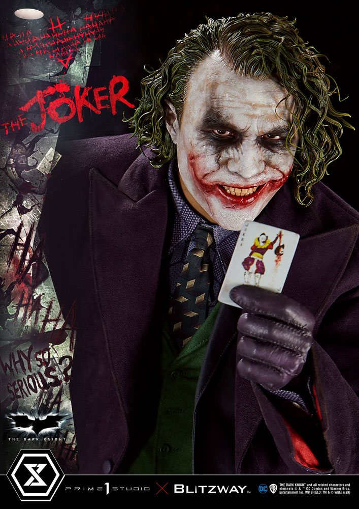 Statue The Dark Knight The Joker Bonus Version 72cm 1001 Figurines (3)