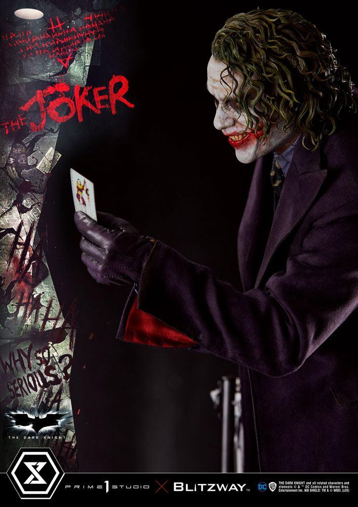 Statue The Dark Knight The Joker Bonus Version 72cm 1001 Figurines (6)