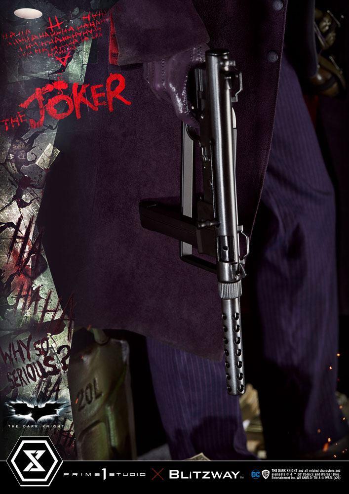Statue The Dark Knight The Joker Bonus Version 72cm 1001 Figurines (9)