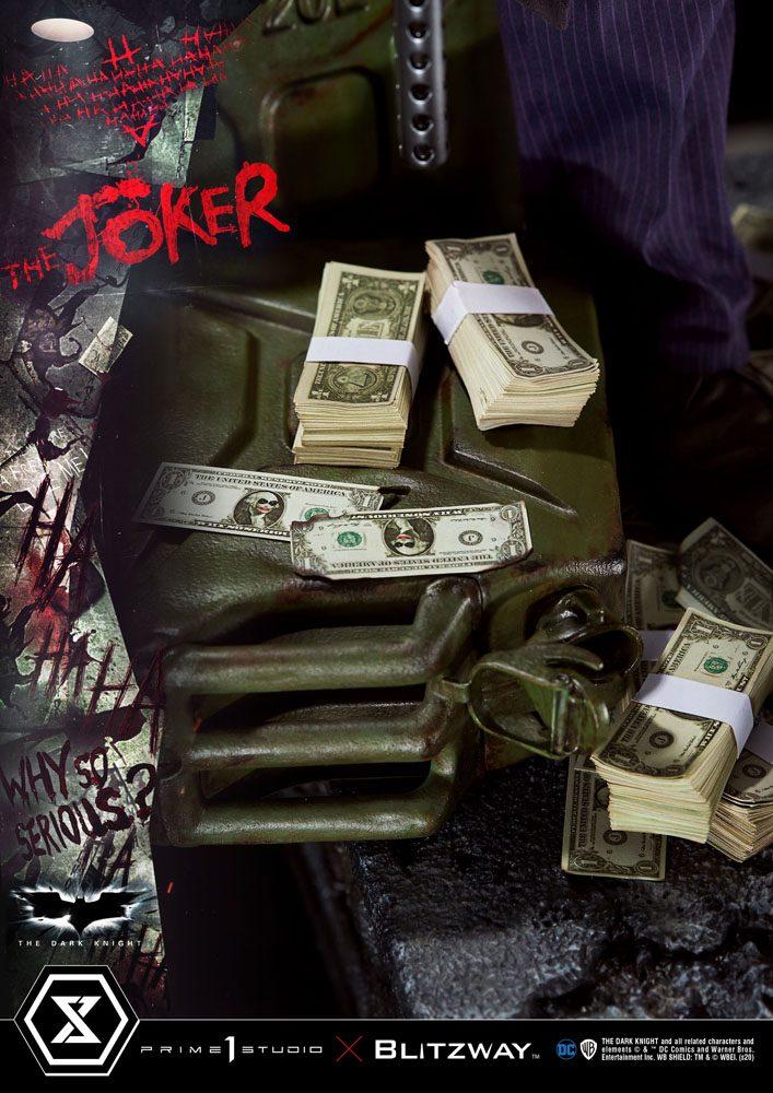 Statue The Dark Knight The Joker Bonus Version 72cm 1001 Figurines (10)