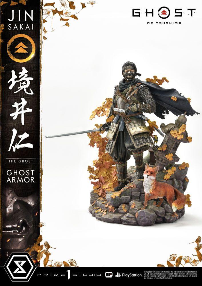 Statuette Ghost of Tsushima Jin Sakai 58cm