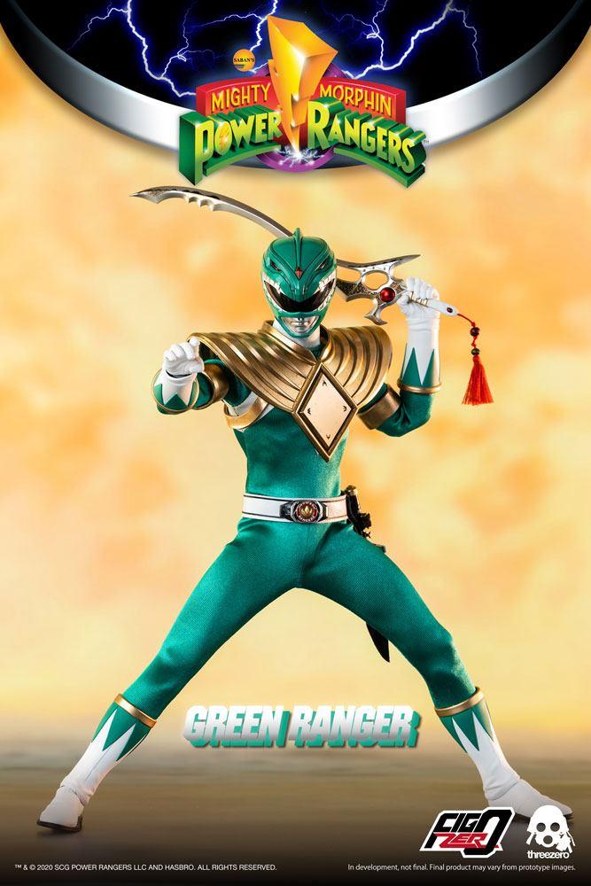 Figurine Mighty Morphin Power Rangers FigZero Green Ranger 30cm 1001 Figurines (1)