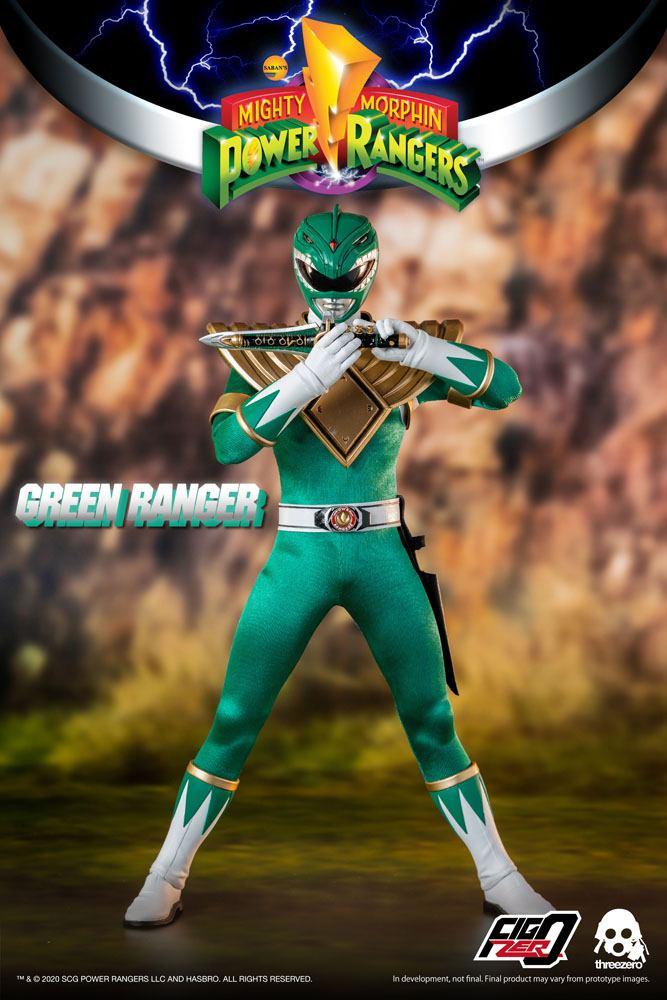 Figurine Mighty Morphin Power Rangers FigZero Green Ranger 30cm 1001 Figurines (5)