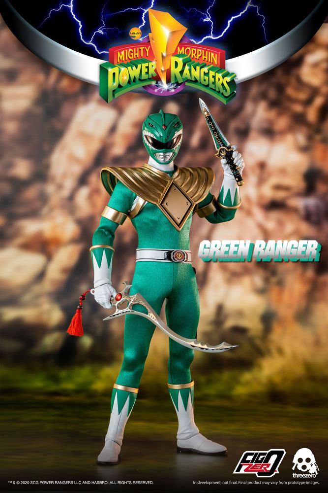 Figurine Mighty Morphin Power Rangers FigZero Green Ranger 30cm 1001 Figurines (7)