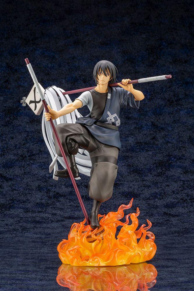 Statuette Fire Force ARTFXJ Shinmon Benimaru Bonus Edition 27cm 1001 Figurines (2)