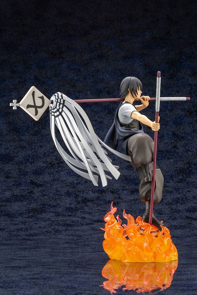 Statuette Fire Force ARTFXJ Shinmon Benimaru Bonus Edition 27cm 1001 Figurines (11)
