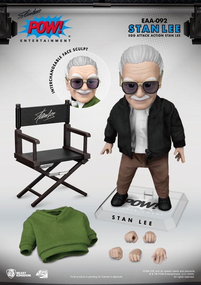 Figurine Stan Lee Egg Attack Stan Lee 16cm 1001 Figurines (7)