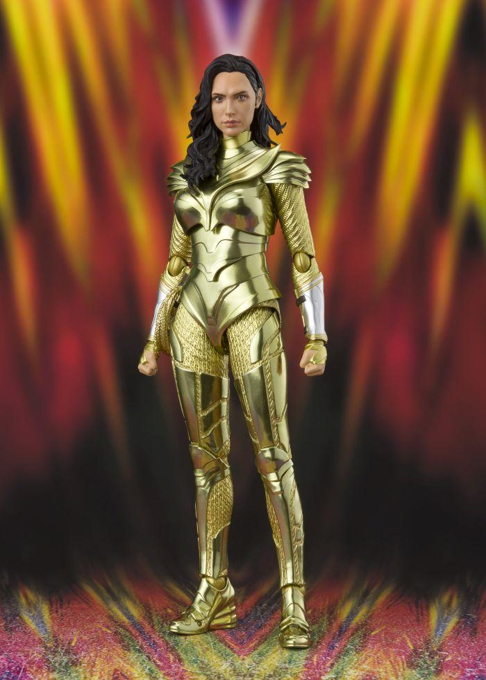 Figurine Wonder Woman 1984 S.H. Figuarts Wonder Woman Golden Armor 16cm