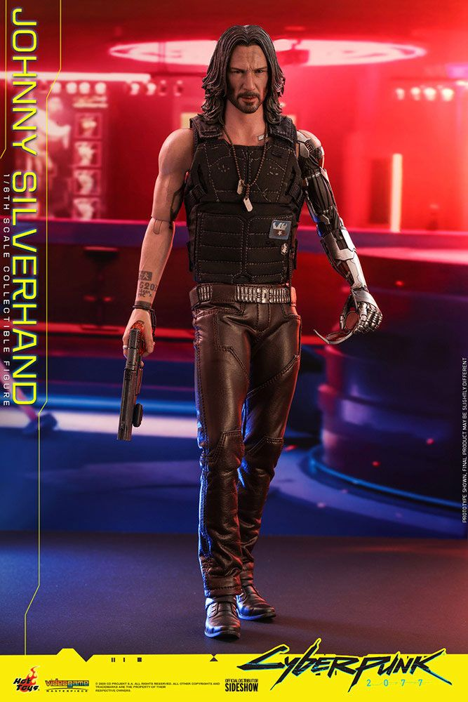Figurine Cyberpunk 2077 Video Game Masterpiece Johnny Silverhand 31cm 1001 Figurines (3)