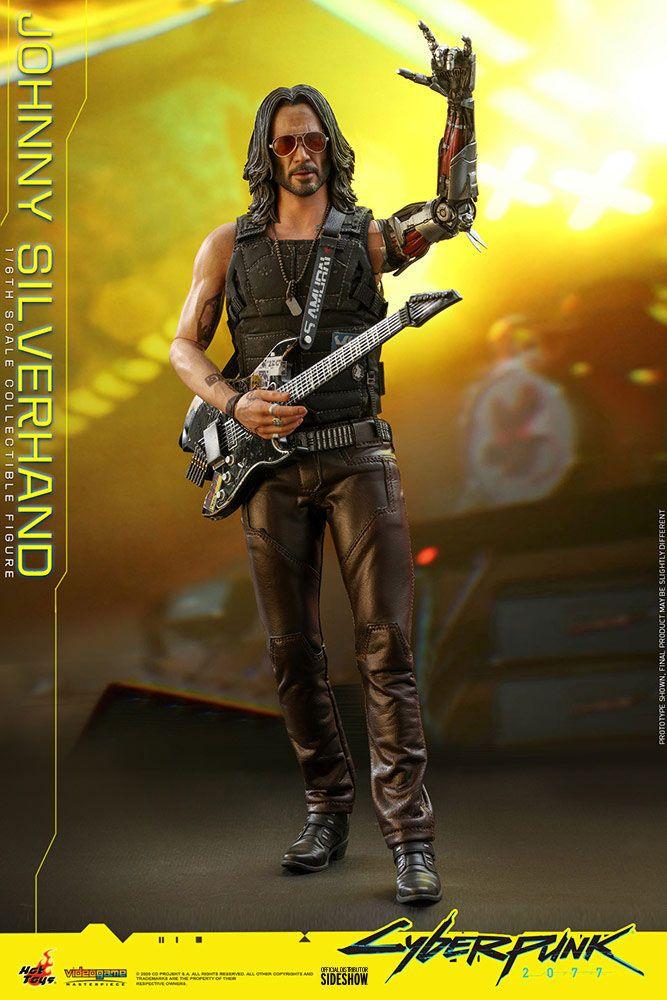 Figurine Cyberpunk 2077 Video Game Masterpiece Johnny Silverhand 31cm 1001 Figurines (4)