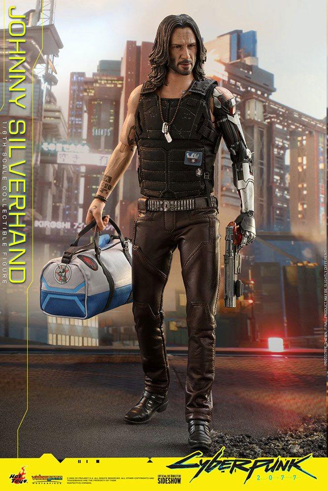 Figurine Cyberpunk 2077 Video Game Masterpiece Johnny Silverhand 31cm 1001 Figurines (6)
