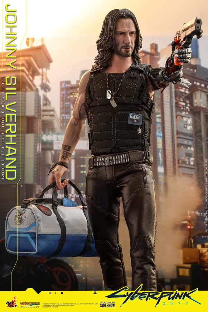Figurine Cyberpunk 2077 Video Game Masterpiece Johnny Silverhand 31cm 1001 Figurines (7)