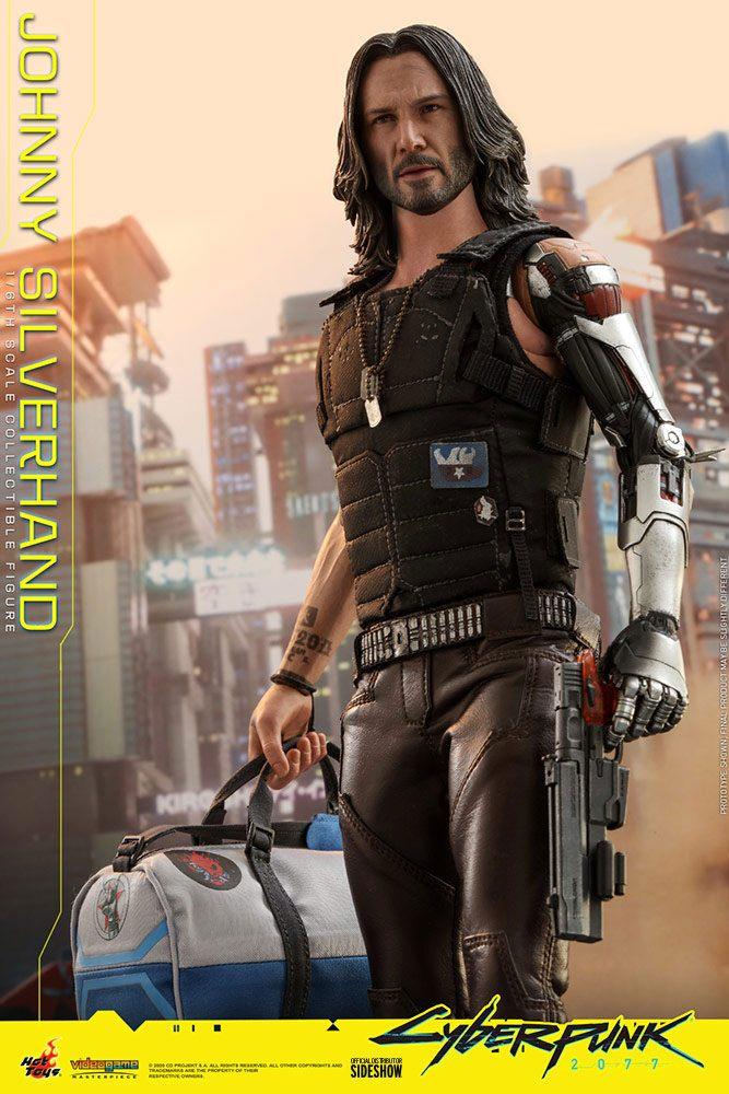 Figurine Cyberpunk 2077 Video Game Masterpiece Johnny Silverhand 31cm 1001 Figurines (8)