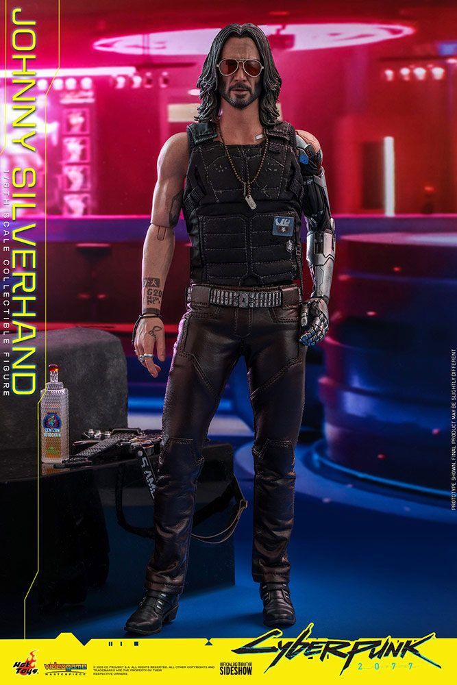 Figurine Cyberpunk 2077 Video Game Masterpiece Johnny Silverhand 31cm 1001 Figurines (9)